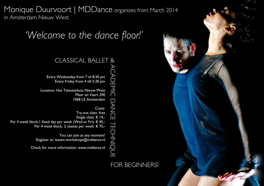 Monique Duurvoort   MDDance - Welcome to the dance floor! (ENG)